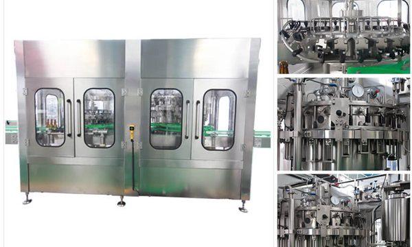 자동적 인 맥주 보드카 포도주 유리 병 충전물 기계