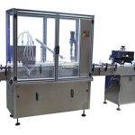 자동 병 충전 상한 및 라벨링 기계