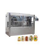 자동 유리 항아리 꿀 충전 상한 기계
