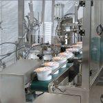 자동 아이스크림 컵 충전 씰링 기계