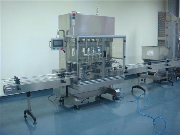 자동 식초 시간 중력 액체 충전물 기계