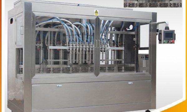 자동적 인 화장 용 향수 액체 병 채우는 기계
