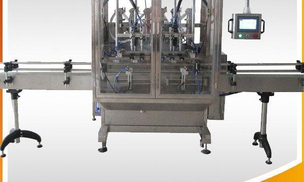 자동 오버플로 중력 병 액체 충전물 기계