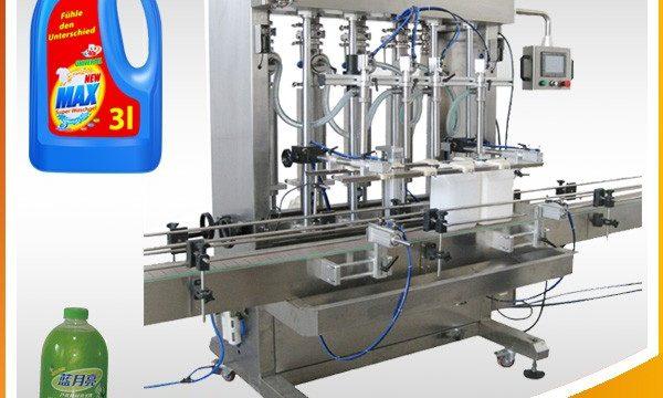 더블 헤드 완전 자동 피스톤 타입 액체 충전 기계