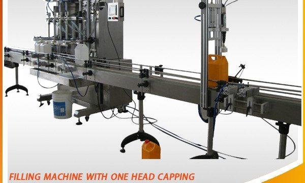 저가를 가진 채우는 장비 유형 구두 액체 충전물 기계