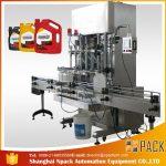 500ml-2L 자동적 인 액체 세제 충전물 기계 / 세척액 충전물 기계