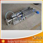 자동 장전 식 피스톤 충전물 기계 이상적인 기름 충전물 기계