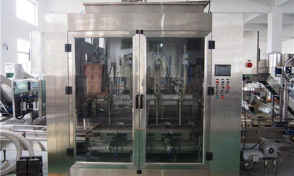 자동적 인 음식 기름 충전물 기계와 올리브 기름 포장기