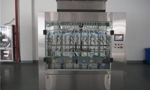 자동 12 헤드 대기압 액체 충전물 기계