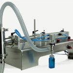 압축 공기를 넣은 통제 두 배 머리 윤활유 충전물 기계