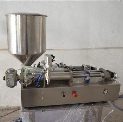 반 자동적 인 수동 기름 충전물 기계 화장품