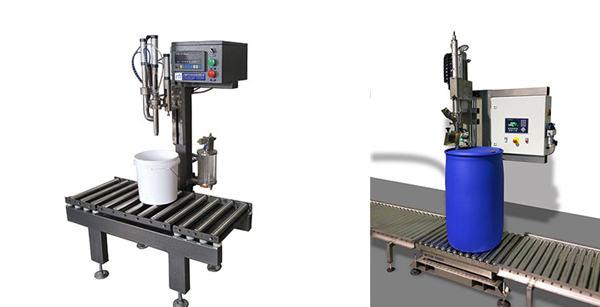 기름 통 충전물 기계