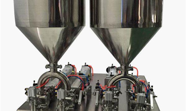 튼튼한 반자동 크림 충전물 기계