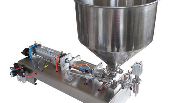 고효율 수동 꿀 충전물 기계