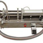반 자동적 인 높은 점성 액체 꿀 충전물 기계