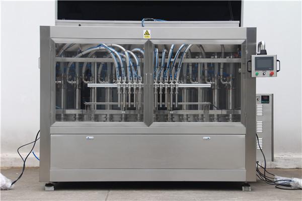 대량 자동 병 샴푸 충전물 기계