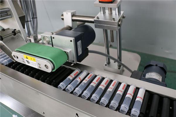 수평 한 자동적 인 주입 작은 유리 병 레테르를 붙이는 기계