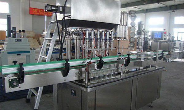 제일 가격 자동적 인 소형 간단한 잼 충전물 기계