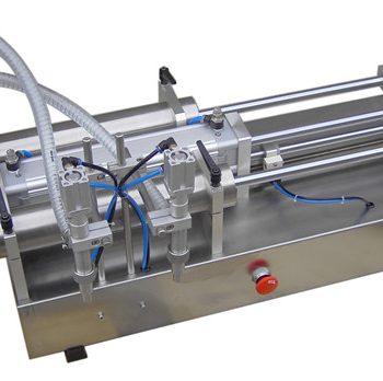 저가 수동 피스톤 액체 충전물 기계