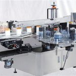 유리제 향수병 상단 표면 상표 기계