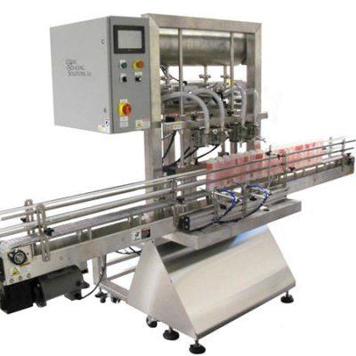 자동 병 피스톤 충전물 기계