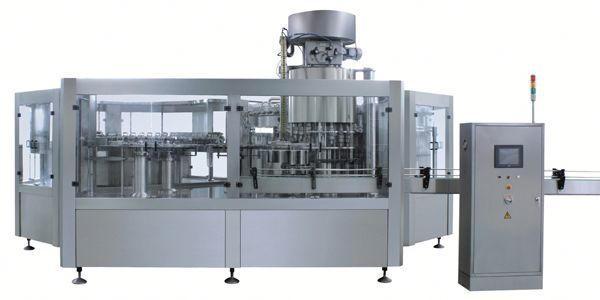공압 표백제 액체 충전 기계