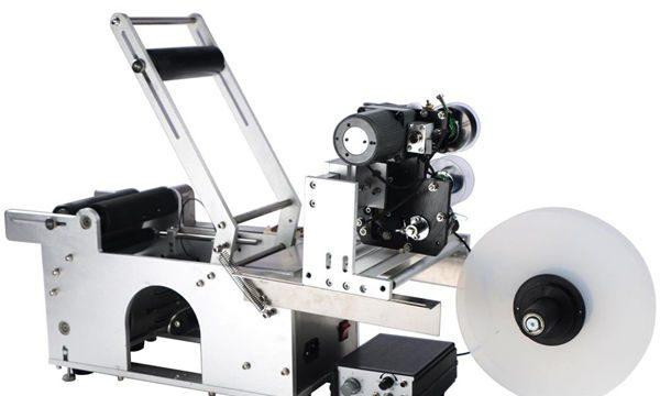 반자동 원형 병 라벨링 기계