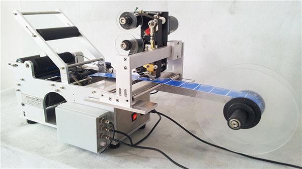 작은 둥근 병 Llabeling 기계
