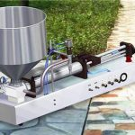 반자동 세제 액체 충전 기계