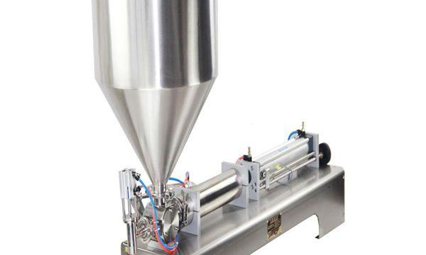 크림 샴푸 화장 용이 풀을위한 50-500ml 풀과 액체 충전물 기계