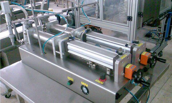 좋은 품질 두 배 분사구 액체 샴푸 충전물 기계