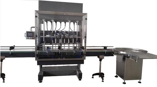 자동 병 표백 충전물 기계