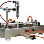 두 배 머리 압축 공기를 넣은 크림 충전물 기계 100-1000ml