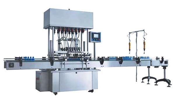 소독액 충전물 기계