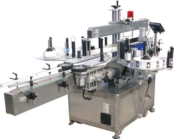 정연한 편평한 병을위한 자동적 인 레테르를 붙이는 기계