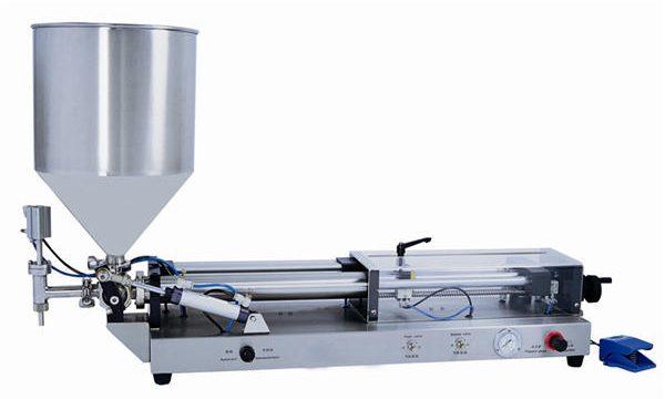 3mL-5L 용 반자동 페이스트 충전 기계