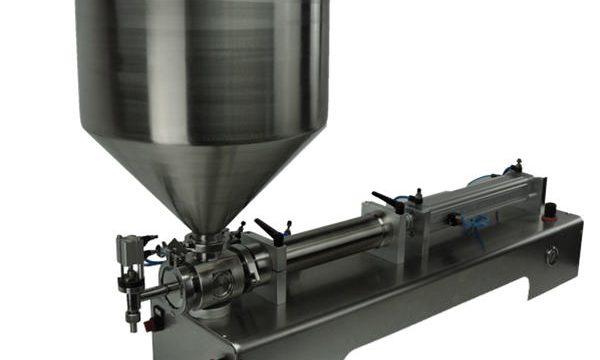샴푸를위한 싼 가격 두 배 맨 위 피스톤 충전물 기계