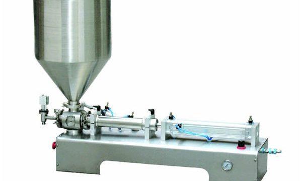 반자동 칼라 민 로션 페이스트 / 액체 병 피스톤 충전물 기계
