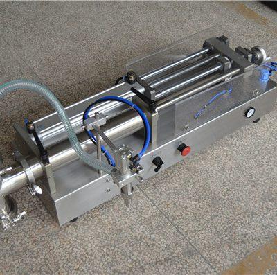 세미 자동 샴푸 충전 기계 제조 업체